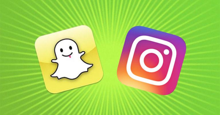 το Instagram μιμήθηκε το Snapchat