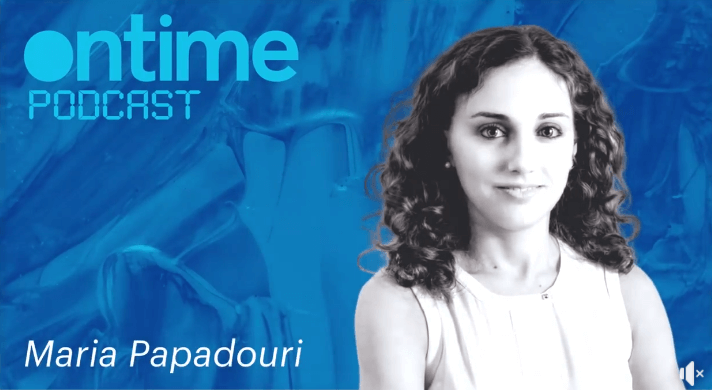 maria papadouri social media podcast